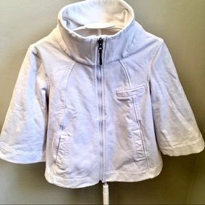 Lululemon zip sweater/jacket 3/4 sleeves